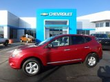 2012 Cayenne Red Nissan Rogue S AWD #117062856