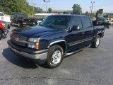 2005 Dark Blue Metallic Chevrolet Silverado 1500 LS Crew Cab 4x4 #117063002