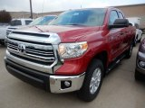 2017 Barcelona Red Metallic Toyota Tundra SR5 Double Cab 4x4 #117091456