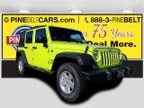 2017 Hypergreen Jeep Wrangler Unlimited Sport 4x4 #117091099