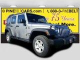2017 Billet Silver Metallic Jeep Wrangler Unlimited Sport 4x4 #117091086