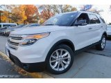 2014 White Platinum Ford Explorer XLT 4WD #117091384