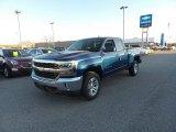 2017 Deep Ocean Blue Metallic Chevrolet Silverado 1500 LT Double Cab 4x4 #117091473