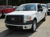 Oxford White Ford F150 in 2010