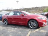 2017 Ruby Red Ford Fusion Sport AWD #117131501