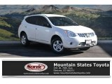 2013 Pearl White Nissan Rogue S AWD #117131404