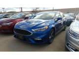 2017 Lightning Blue Ford Fusion Sport AWD #117131621