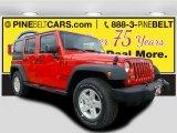 2017 Firecracker Red Jeep Wrangler Unlimited Sport 4x4 #117131436
