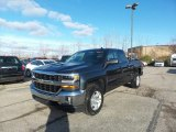 2017 Graphite Metallic Chevrolet Silverado 1500 LT Double Cab 4x4 #117153878