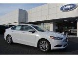 2017 Oxford White Ford Fusion SE #117153675