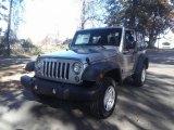 2017 Billet Silver Metallic Jeep Wrangler Sport 4x4 #117153548