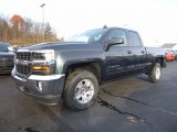 2017 Graphite Metallic Chevrolet Silverado 1500 LT Double Cab 4x4 #117153715