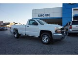 2017 Summit White Chevrolet Silverado 1500 WT Regular Cab #117153803