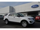 2017 Oxford White Ford Explorer FWD #117178108