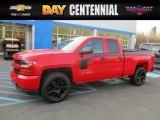 2017 Red Hot Chevrolet Silverado 1500 Custom Double Cab 4x4 #117178067