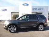 2016 Magnetic Metallic Ford Explorer Limited 4WD #117178251