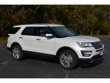 2017 White Platinum Ford Explorer Limited #117178208