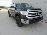 2017 Midnight Black Metallic Toyota Tundra SR5 CrewMax 4x4 #117204486
