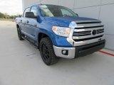 2017 Blazing Blue Pearl Toyota Tundra SR5 TSS Off-Road CrewMax #117204485