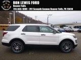 2017 White Platinum Ford Explorer Sport 4WD #117204443