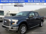 2016 Blue Jeans Ford F150 XLT SuperCrew 4x4 #117215800
