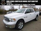 2017 Bright White Ram 1500 Big Horn Crew Cab 4x4 #117228090