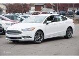 2017 Oxford White Ford Fusion SE #117228171