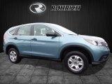 2014 Twilight Blue Metallic Honda CR-V LX AWD #117247594