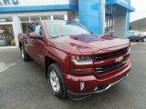 2017 Siren Red Tintcoat Chevrolet Silverado 1500 LT Crew Cab 4x4 #117247587