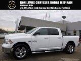 2014 Bright White Ram 1500 Big Horn Crew Cab 4x4 #117247711