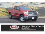 2017 Barcelona Red Metallic Toyota Tundra SR5 Double Cab 4x4 #117265381