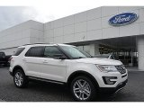 2017 White Platinum Ford Explorer XLT 4WD #117265480