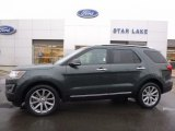 2016 Guard Metallic Ford Explorer Limited 4WD #117265736