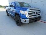 2017 Blazing Blue Pearl Toyota Tundra SR5 TSS Off-Road CrewMax #117265530
