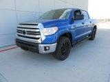 2017 Toyota Tundra Blazing Blue Pearl