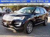 2017 Shadow Black Ford Explorer Platinum 4WD #117265345