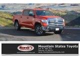 2017 Inferno Orange Toyota Tundra SR5 CrewMax 4x4 #117265390