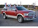 2014 Deep Cherry Red Crystal Pearl Ram 1500 Laramie Crew Cab 4x4 #117291311