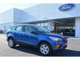 2017 Lightning Blue Ford Escape S #117291201