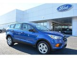 2017 Lightning Blue Ford Escape S #117291199