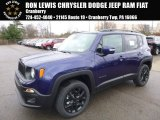 2017 Jetset Blue Jeep Renegade Latitude 4x4 #117291142