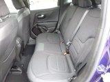 2017 Jeep Renegade Latitude 4x4 Rear Seat