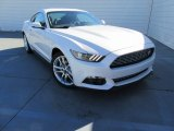 2017 White Platinum Ford Mustang Ecoboost Coupe #117291249