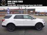2017 White Platinum Ford Explorer XLT 4WD #117319196