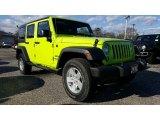 2017 Hypergreen Jeep Wrangler Unlimited Sport 4x4 #117319120