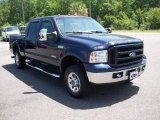 2007 Ford F250 Super Duty True Blue Metallic
