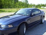 2002 True Blue Metallic Ford Mustang V6 Coupe #11716349