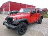 2017 Firecracker Red Jeep Wrangler Unlimited Sport 4x4 #117319298