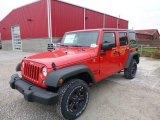 2017 Firecracker Red Jeep Wrangler Unlimited Sport 4x4 #117319297