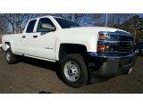 2017 Summit White Chevrolet Silverado 2500HD Work Truck Double Cab 4x4 #117319103
